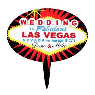 GÂTEAU Las Vegas ÉPATANT épousant le signe Étiquette À Gâteau