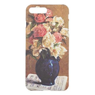 Gauguin - bouquet des pivoines sur une coque iPhone 7 plus