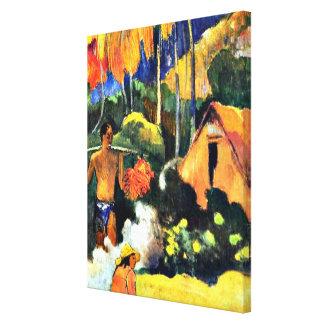 Gauguin - l'heure de vérité II Toiles