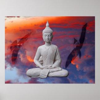 Gautama Siddhartha Bouddha Poster
