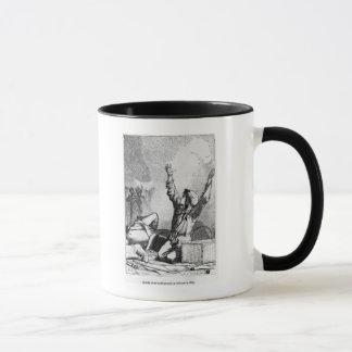 Gavroche était tombé pour se lever seulement mug