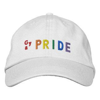 Gay pride casquette brodée
