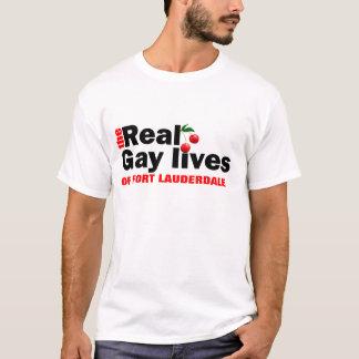Gay pride de Fort Lauderdale T-shirt