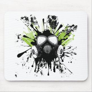 Gaz grunge Mask2 Tapis De Souris