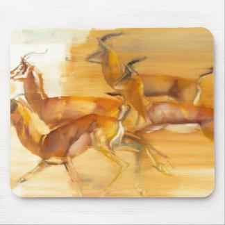 Gazelles courantes 2010 tapis de souris
