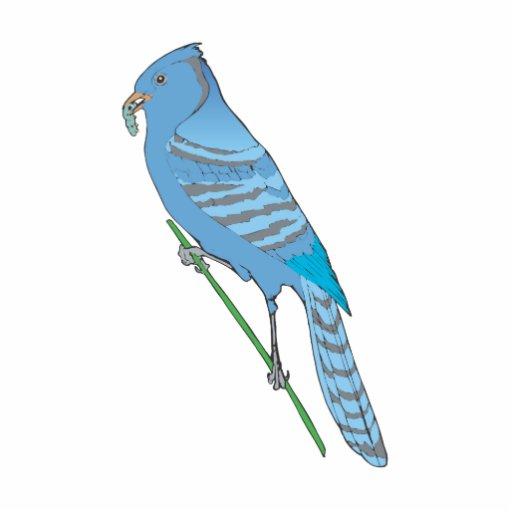 Geai bleu de Benji Découpage En Acrylique