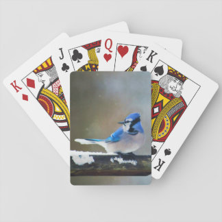 Geai bleu jeu de cartes