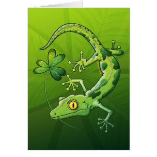 Gecko du jour de Patrick de saint Carte De Vœux