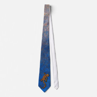 Gecko indigène australien de désert cravates