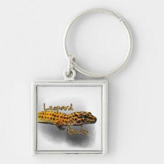Gecko Keychain de léopard Porte-clefs