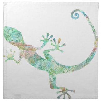 Gecko Serviettes En Tissus