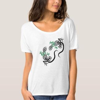 Gecko tribal t-shirt
