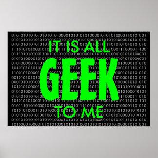 Geek à moi… poster