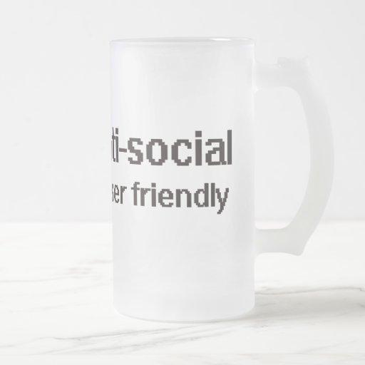 Geek antisocial de technicien mug à café
