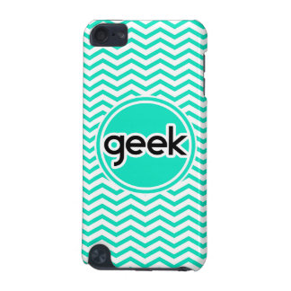 Geek ; Aqua Chevron vert