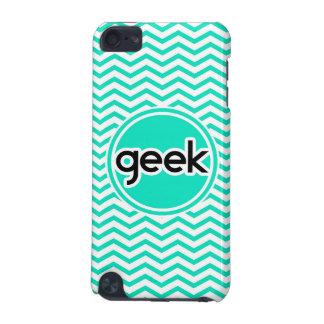 Geek Aqua Chevron vert