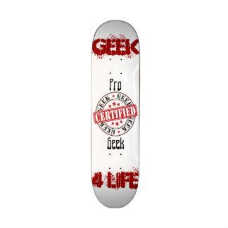 Geek certifié planche à roulette