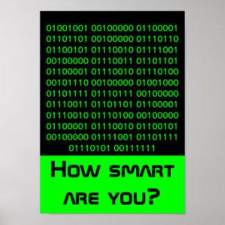 Geek… combien futés êtes vous affiche