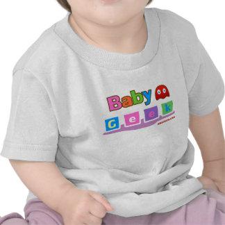 Geek de bébé t-shirts