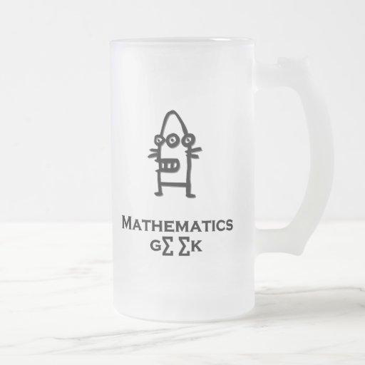 Geek de mathématiques de Bot de trois yeux Mugs