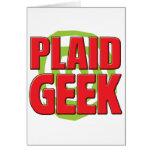 Geek de plaid carte