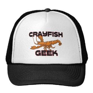 Geek d'écrevisses casquettes