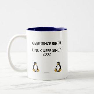 Geek depuis la naissance Utilisateur de Linux dep Tasses À Café