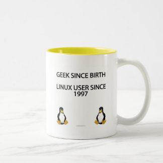 Geek depuis la naissance. Utilisateur de Linux dep Mug À Café