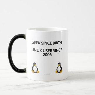 Geek depuis la naissance Utilisateur de Linux dep Mug