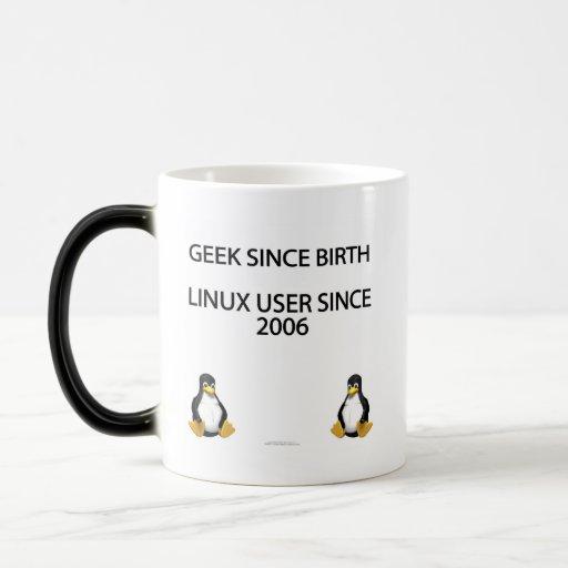 Geek depuis la naissance. Utilisateur de Linux dep Mug