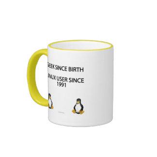 Geek depuis la naissance. Utilisateur de Linux Mug Ringer