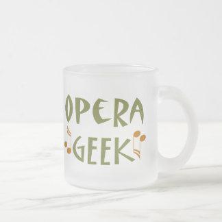 Geek drôle d'opéra mug à café