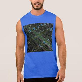 Geekery électronique t-shirts sans manches