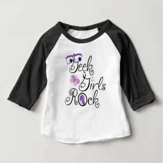 GeekGirlsRock T-shirt Pour Bébé