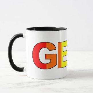 Geeky et pédé As Mug