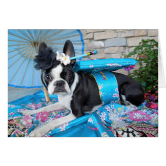 Geisha Lola B. Boston - CARTE VIERGE