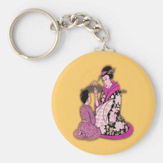Geisha Porte-clé