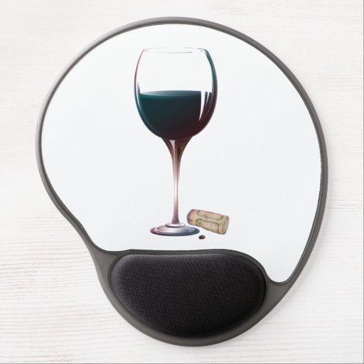 vin rouge qui a gele