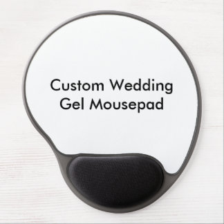Gel fait sur commande Mousepad de mariage Tapis De Souris Avec Gel