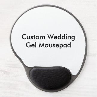 Gel fait sur commande Mousepad de mariage Tapis De Souris En Gel