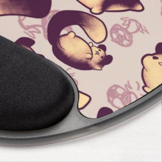 Gel géant indien Mousepad d'écureuil Tapis De Souris Avec Gel