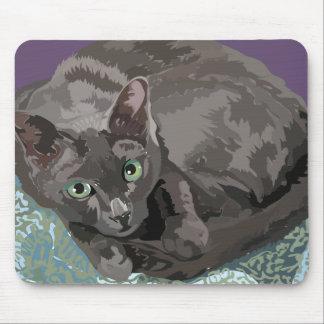 GEL MOUSEPAD - chats de KORAT pour vous garder Tapis De Souris