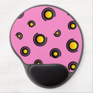 """Gel Mousepad - modèle """"Sphéris"""" - rose Tapis De Souris En Gel"""