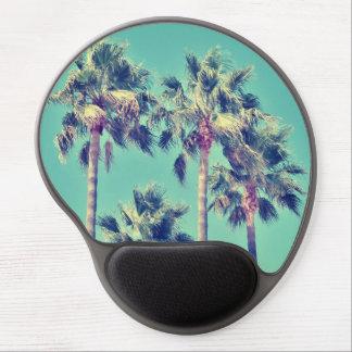 Gel tropical vintage Mousepad de palmiers Tapis De Souris Gel