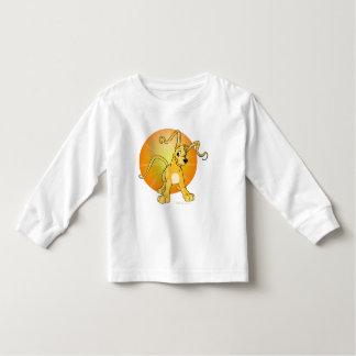 Gelert jaune espiègle t-shirt pour les tous petits