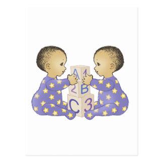 Gémeaux AstrologyBabies - AstroBébés Gémeaux Carte Postale