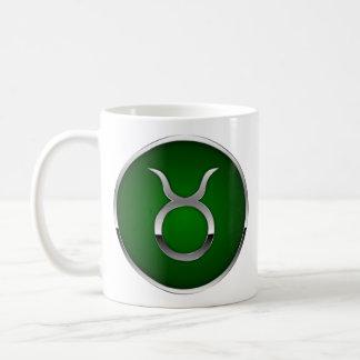 Gémeaux de Taureau de tasse de signe de zodiaque