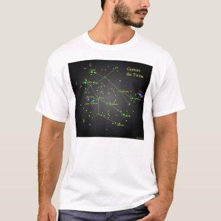 Gémeaux la constellation de jumeaux t-shirt