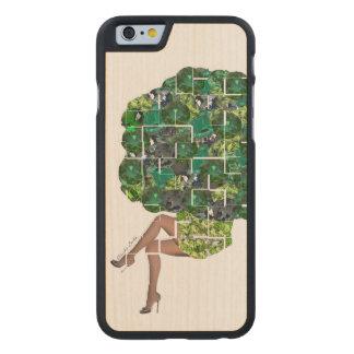 Gemmes de brocoli coque en érable iPhone 6 case