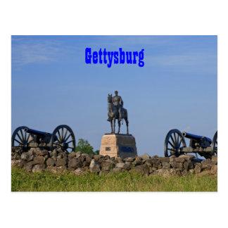 Gen. Meade à la carte postale de Gettysburg
